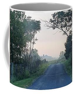 Blue Shadows Coffee Mug