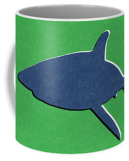 Blue Shark Coffee Mug