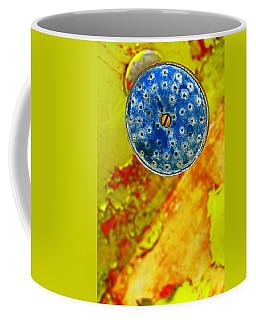 Blue Shower Head Coffee Mug