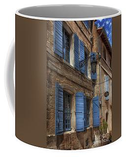 Blue Shutters Coffee Mug