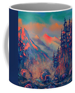 Blue Silence Coffee Mug