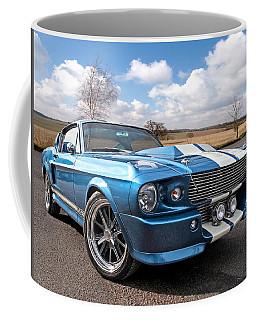 Blue Skies Cruising - 1967 Eleanor Mustang Coffee Mug