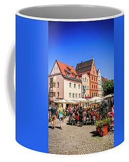 Blue Skies Over Fussen Germany Coffee Mug