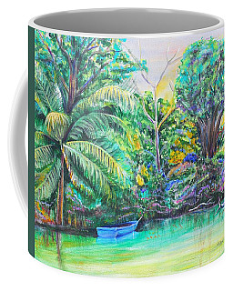 Blue Skiff Coffee Mug