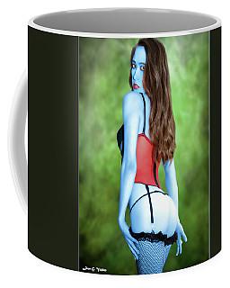 Blue Skinned Vixen Coffee Mug