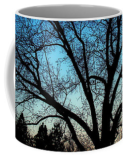 Blue Sky At Night Coffee Mug