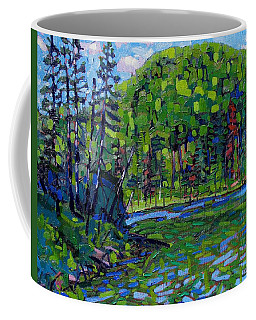 Blue Sky Greens Coffee Mug