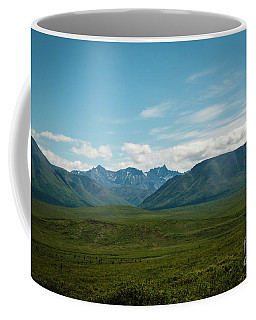 Blue Sky Mountians Coffee Mug