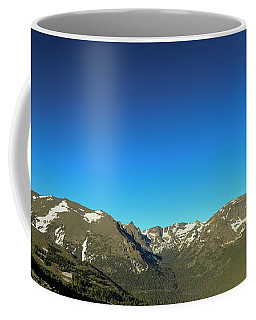 Blue Skys Over The Rockies Coffee Mug