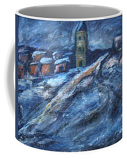 Blue Snow City Coffee Mug