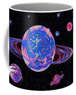Blue Space Frontier Coffee Mug