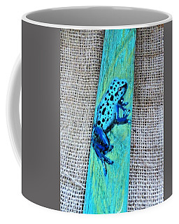 Blue-spotted Tree Frog Coffee Mug by Ann Michelle Swadener