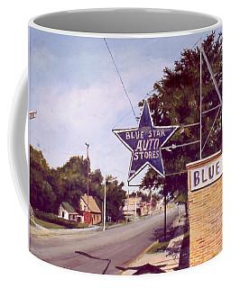Blue Star Auto Coffee Mug