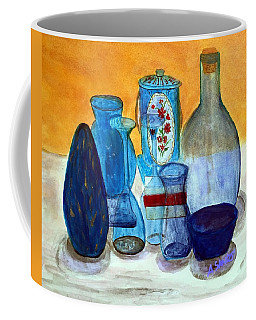 Blue Still Life Coffee Mug