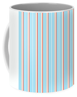 Blue Stripe Pattern Coffee Mug