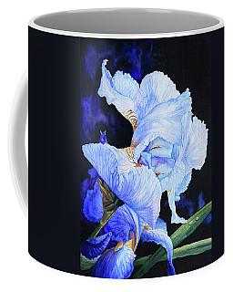 Blue Summer Iris Coffee Mug