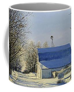 Blue Sunday Coffee Mug