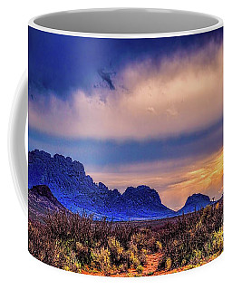 Coffee Mug featuring the photograph Blue Sunset Nm-az by Diana Mary Sharpton