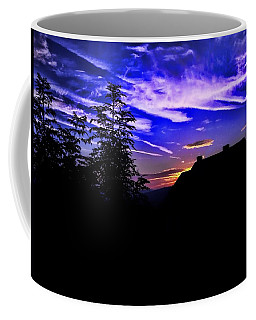 Coffee Mug featuring the photograph Blue Sunset In Poland by Mariola Bitner