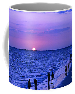 Blue Sunset On The Gulf Of Mexico At Fort Myers Beach In Florida Coffee Mug