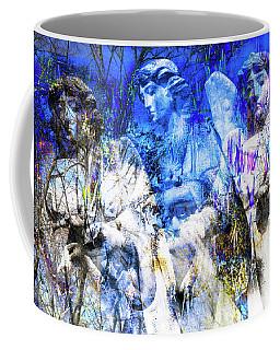 Blue Symphony Of Angels Coffee Mug