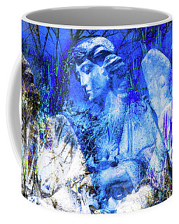 Blue Symphony Of Angels Coffee Mug