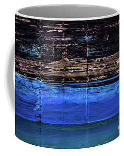 Blue Tanker Coffee Mug