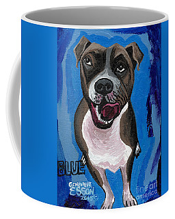 Blue The Pit Bull Terrier Coffee Mug