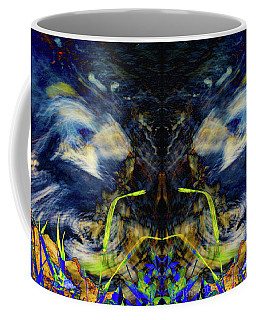Blue Tigers Devil Coffee Mug