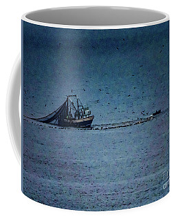 Blue Trawler 1 Coffee Mug