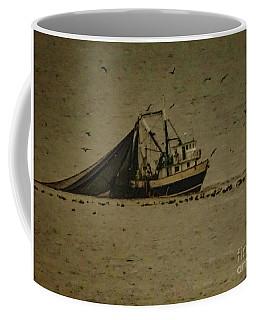 Blue Trawler 2 Coffee Mug