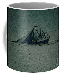 Blue Trawler 3 Coffee Mug