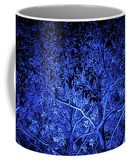 Blue Trees Coffee Mug