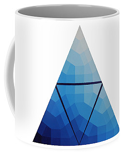 Blue Triangle - Wave Of Blue - Image #10 Coffee Mug by Peter Mooyman