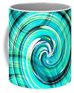 Blue Twister Coffee Mug