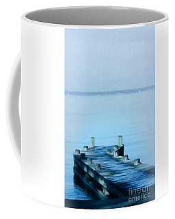 Coffee Mug featuring the photograph Blue Water by Ella Kaye Dickey
