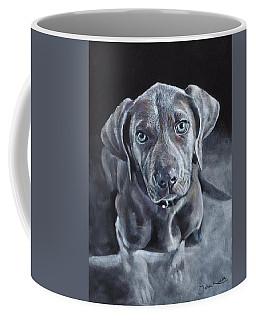 Blue Weimaraner Coffee Mug