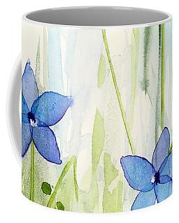 Blue Wildflowers Coffee Mug