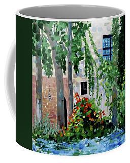 Blue Window Coffee Mug