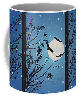 Blue Winter Moon Coffee Mug