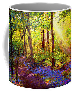 Bluebell Blessing Coffee Mug by Jane Small