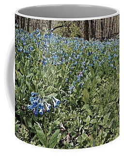 Bluebell Slope Coffee Mug by Tim Good