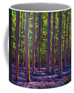 Bluebells And Forest Coffee Mug