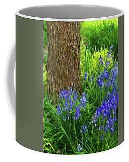 Coffee Mug featuring the photograph Bluebells Of Springtime  by Connie Handscomb