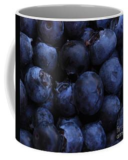 Blueberries Close-up - Horizontal Coffee Mug