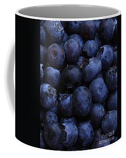 Blueberries Close-up - Vertical Coffee Mug