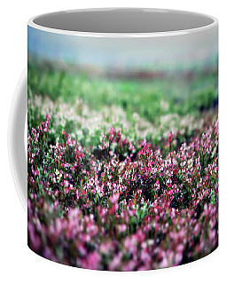 Coffee Mug featuring the photograph Blueberry Blossoms  by Alana Ranney