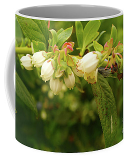Blueberry Blossoms Coffee Mug