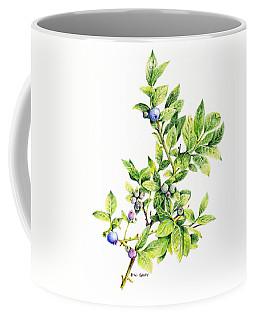 Blueberry Branch Coffee Mug