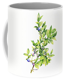 Blueberry Branch Coffee Mug